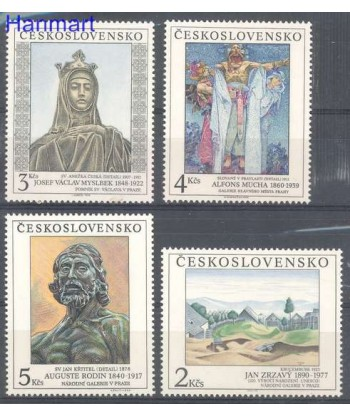 Czechosłowacja 1990 Mi 3069-3072 Czyste **