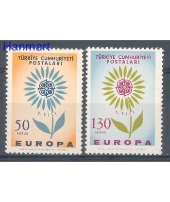 Turcja 1964 Mi 1917-1918 Czyste **