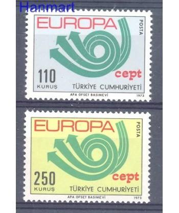Turcja 1973 Mi 2280-2281 Czyste **