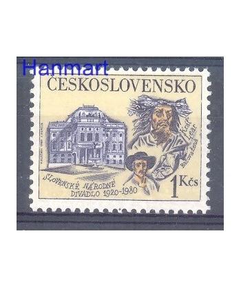 Czechosłowacja 1980 Mi 2556 Czyste **