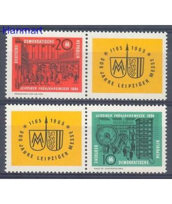 Niemiecka Republika Demokratyczna / DDR 1964 Mi 1012-1013 Czyste **
