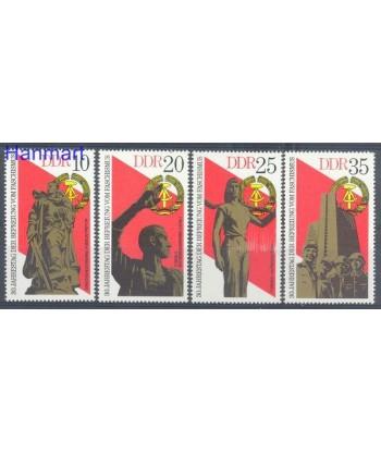 Niemiecka Republika Demokratyczna / DDR 1975 Mi 2038-2041 Czyste **