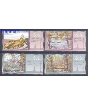 Ukraina 2004 Mi 648-651 Czyste **
