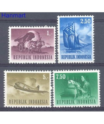 Indonezja 1964 Mi 450-453 Czyste **