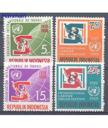 Indonezja 1969 Mi 626-629 Czyste **