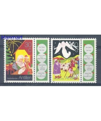 Antyle Holenderskie 1991 Mi 734-735 Czyste **