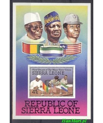 Sierra Leone 1984 Mi bl 19 Czyste **