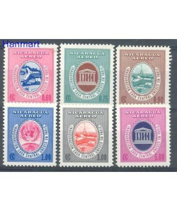 Nikaragua 1958 Mi 1214-1219 Czyste **