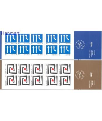 Islandia 2006 Mi 1135-1136 Czyste **