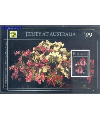 Jersey 1999 Mi bl 22 Czyste **