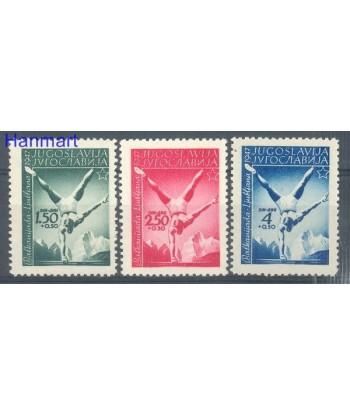 Jugosławia 1947 Mi 524-526 Z podlepka *