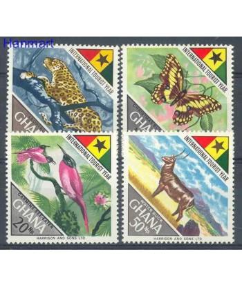 Ghana 1967 Mi 326-329 Czyste **