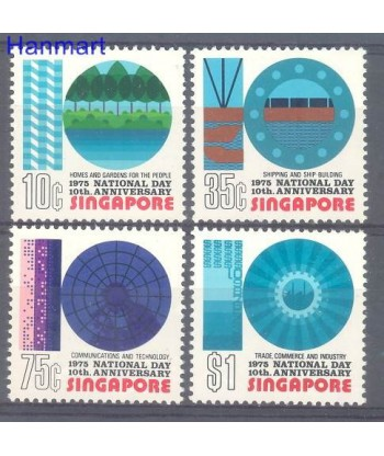 Singapur 1975 Mi 235-238 Czyste **