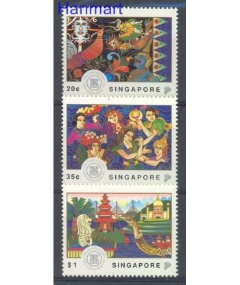 Singapur 1992 Mi 665-667 Czyste **