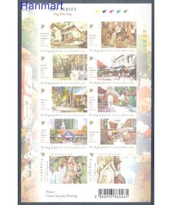 Singapur 2004 Mi 1329-1338 Czyste **