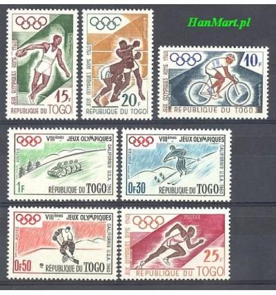 Togo 1960 Mi 276-282 MNH