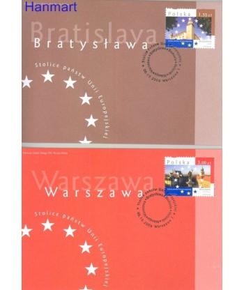 Polska 2009 Mi 4450-4454 FDC