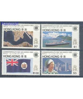 Hong Kong 1983 Mi 411-414 Czyste **