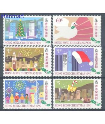 Hong Kong 1990 Mi 599-604 Czyste **