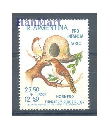 Argentyna 1966 Mi 901 Czyste **