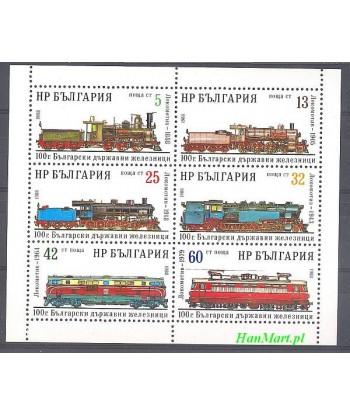 Bułgaria 1988 Mi 3637-3642 Czyste **
