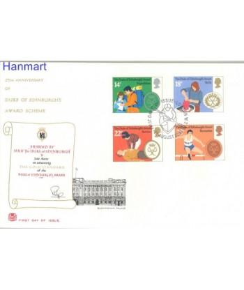 Wielka Brytania 1981 Mi 886-889 FDC