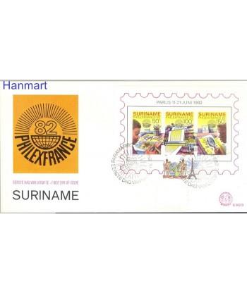 Surinam 1982 Mi bl 34 FDC