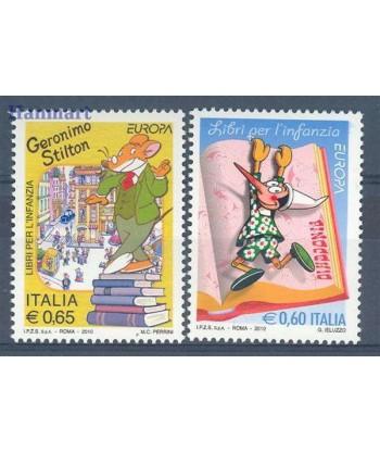 Włochy 2010 Mi 3376-3377 Czyste **