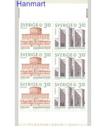 Szwecja 1987 Mi mh 120 Czyste **