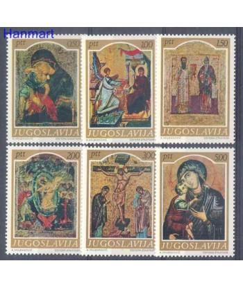Jugosławia 1968 Mi 1268-1273 Czyste **