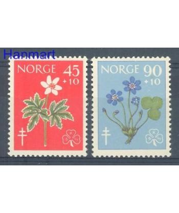 Norwegia 1960 Mi 438-439 Czyste **