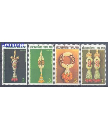 Tajlandia 1987 Mi 1216-1219 Czyste **