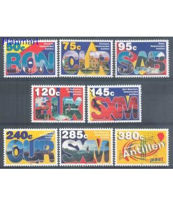 Antyle Holenderskie 2003 Mi 1254-1261 Czyste **