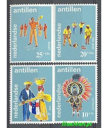 Antyle Holenderskie 1969 Mi 204-207 Czyste **