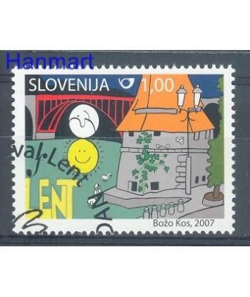 Słowenia 2007 Mi 651 Stemplowane