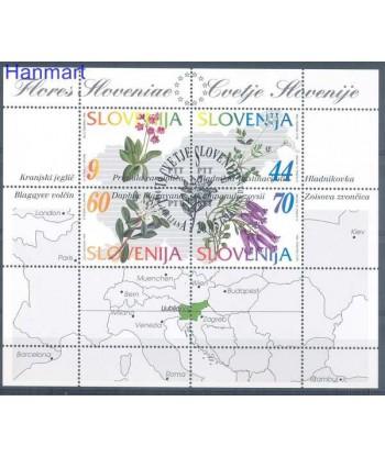 Słowenia 1994 Mi bl 1 Stemplowane