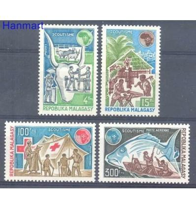Madagascar 1974 Mi 705-708 MNH