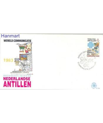Antyle Holenderskie 1983 Mi 493 FDC