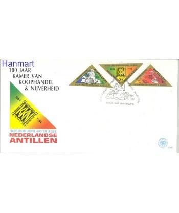 Antyle Holenderskie 1984 Mi 527-529 FDC
