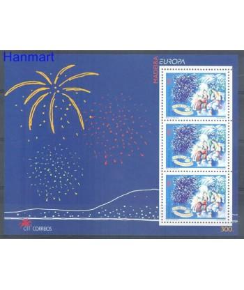 Madeira 1998 Mi bl 17 Czyste **