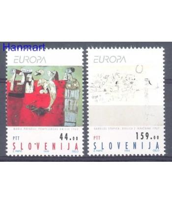Słowenia 1993 Mi 48-49 Czyste **