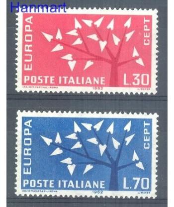 Włochy 1962 Mi 1129-1130 Czyste **
