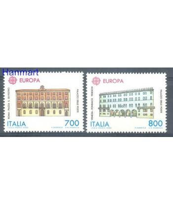 Włochy 1990 Mi 2150-2151 Czyste **