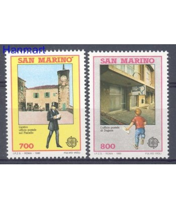 San Marino 1990 Mi 1432-1433 Czyste **