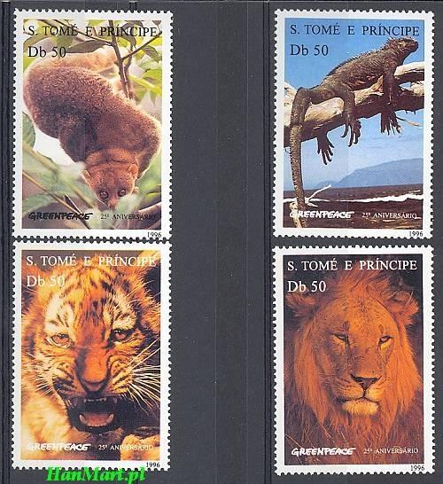 Sao Tome and Principe 1996 Mi...