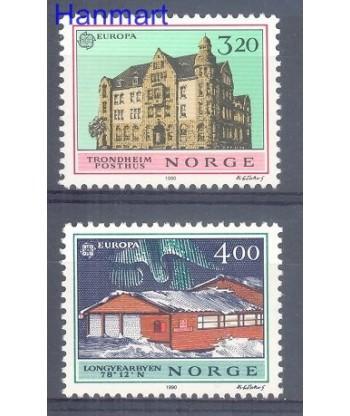 Norwegia 1990 Mi 1046-1047 Czyste **