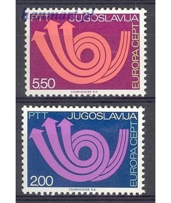 Jugosławia 1973 Mi 1507-1508 Czyste **