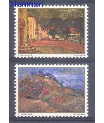 Jugosławia 1977 Mi 1684-1685 Czyste **
