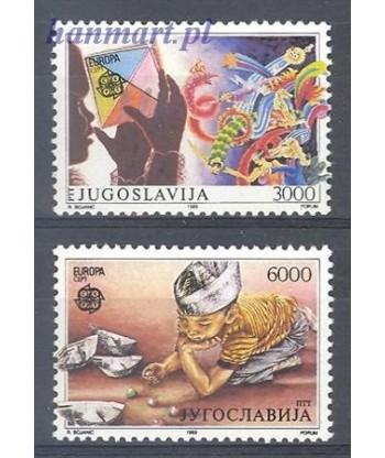 Jugosławia 1989 Mi 2340-2341 Czyste **