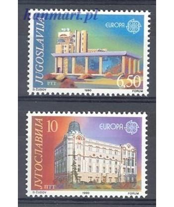 Jugosławia 1990 Mi 2414-2415 Czyste **